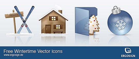 Free Winter Vector Icons