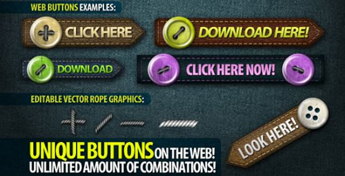 Web elements: Real web buttons
