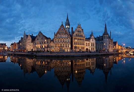 Ghent by night