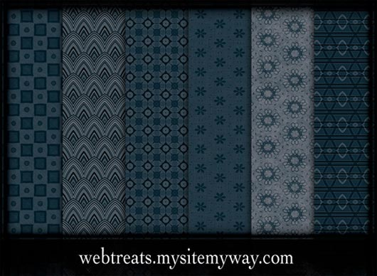 100+ Photoshop Backgrounds and Patterns in Shades of Blue