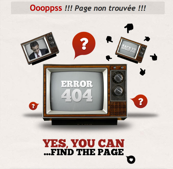 on air agency 40 Clever Yet Creative 404 Error Designs