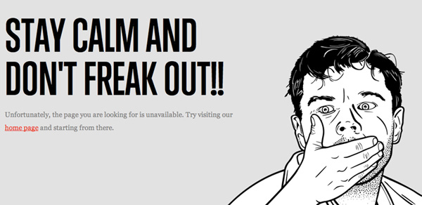 the many faces of 40 Clever Yet Creative 404 Error Designs