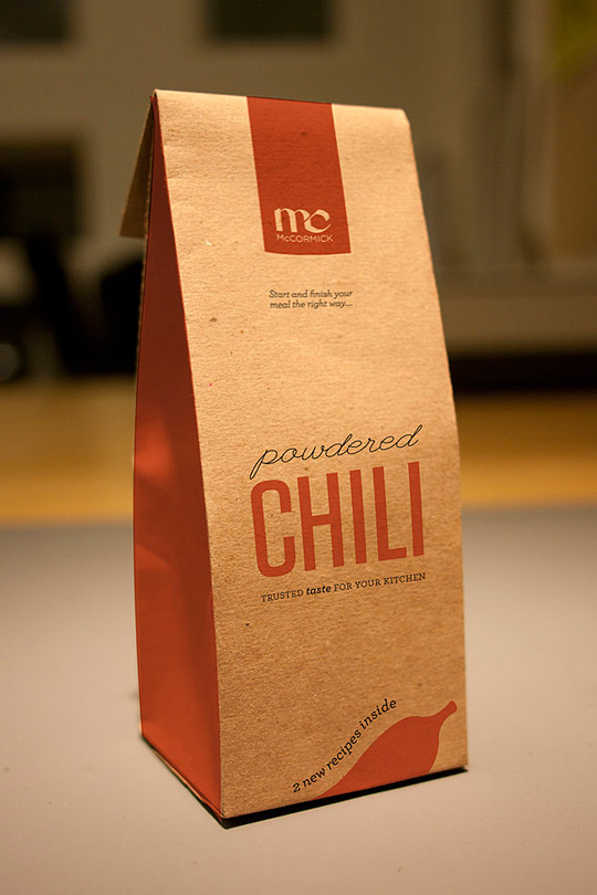 McCormick Spices Packaging