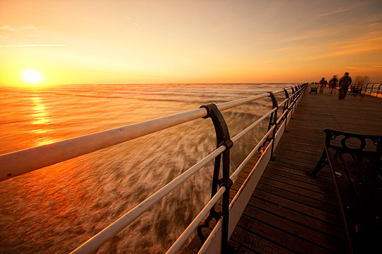 Pier At The Sun