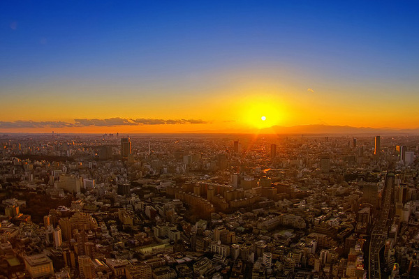 Tokyo Japan 30 Beautiful Examples of Sunrise Photography
