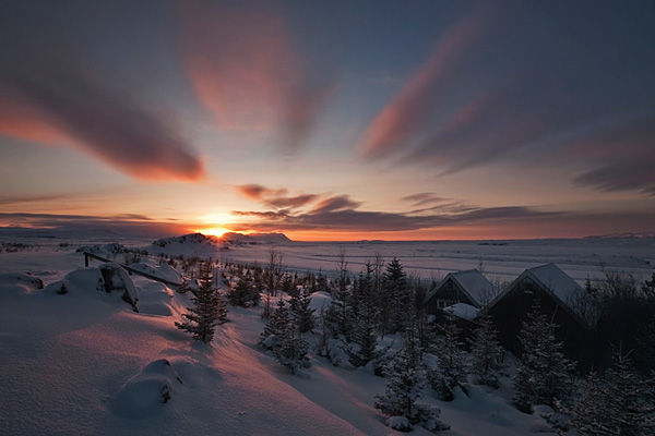 Winter Sunset 30 Beautiful Examples of Sunrise Photography