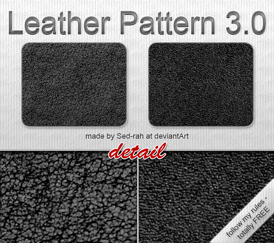 Leather Pattern 3.0