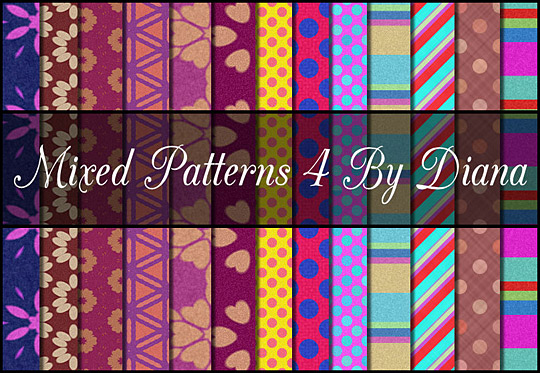 Mixed Patterns 4 By Diana