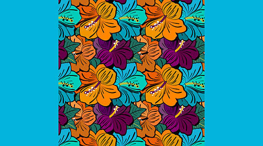 Very flowery PS free patterns