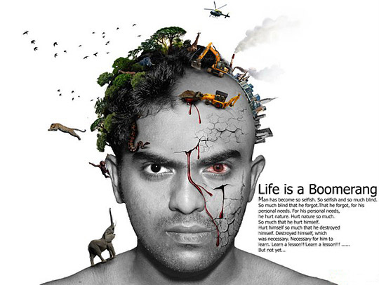 Life is a Boomerang_for Green life org