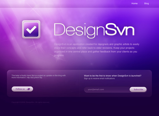 designsvn 55+ Beautiful and Creative Coming Soon Pages & WordPress Theme