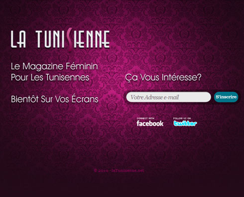latunisienne 55+ Beautiful and Creative Coming Soon Pages & WordPress Theme