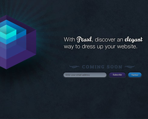 peaxl 55+ Beautiful and Creative Coming Soon Pages & WordPress Theme