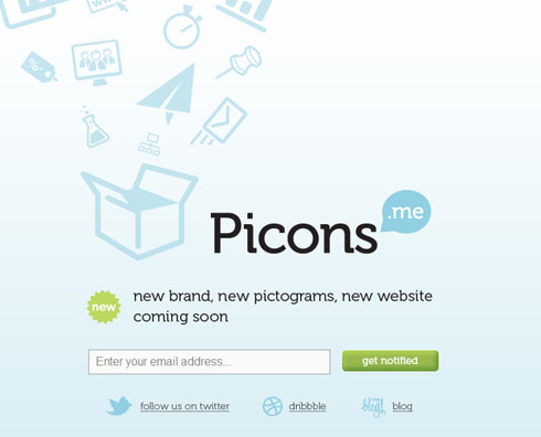 picons 55+ Beautiful and Creative Coming Soon Pages & WordPress Theme