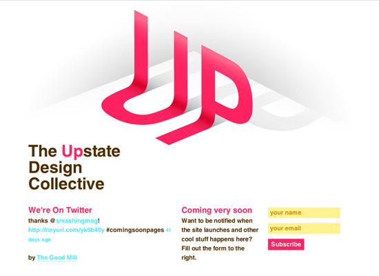 upstate design college 55+ Beautiful and Creative Coming Soon Pages & WordPress Theme