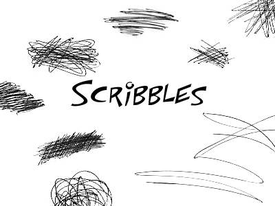 Free photoshop scribble brushes download