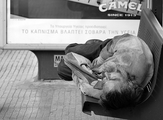 Smoking is bad for your health. What about being homeless?
