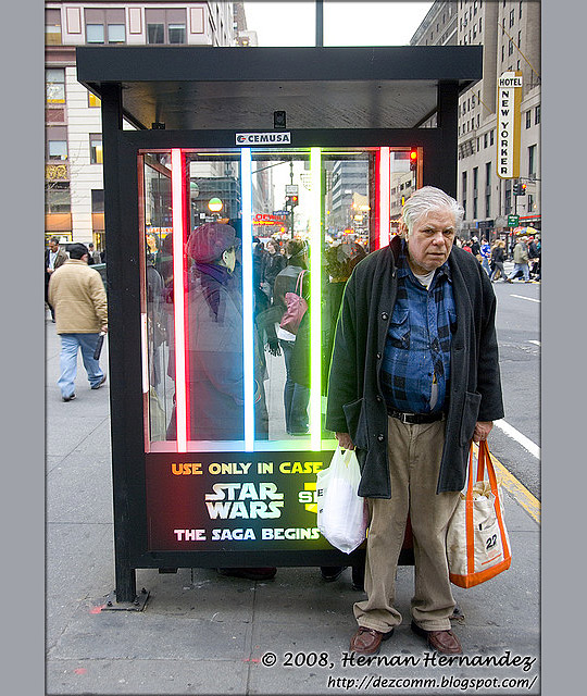 Even Jedi Grow Old... (NYC, March 2008)