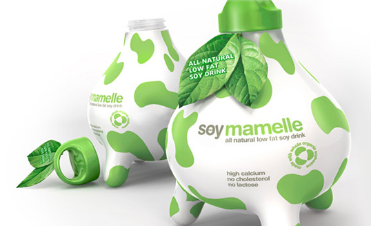 soy11 30 Wonderful Examples of Milk Packaging Design