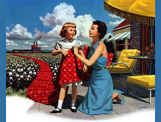 Mother & Daughter 1952