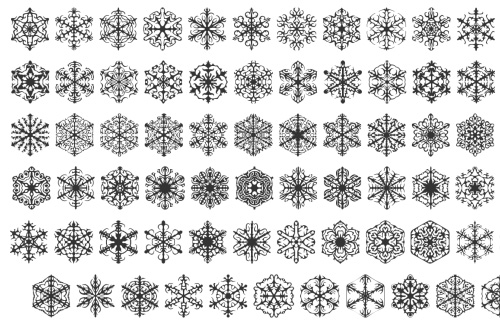 faux snow 40 Free Highly Functional Dingbat Fonts