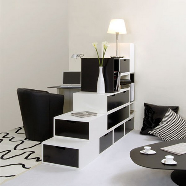 modern black and white furniture  Black & White Inspiration: 35 Contemporary Decors Opening Up A World of Ideas