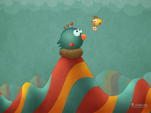 Happy Mothers Day Tiny Wings fan art wallpaper Enhance your Esthetic Sense with High Definition Wallpapers