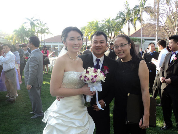 Officiant for Asian Wedding in Orange County CA