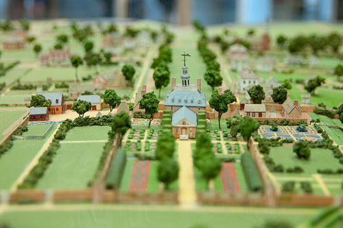 Colonial Palace in Miniature