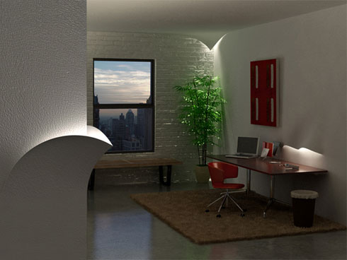 wall lamps1 60 Examples of Innovative Lighting Design