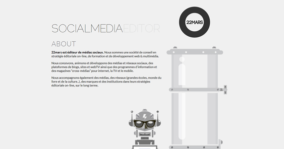 One Page Folio for Design Inspiration