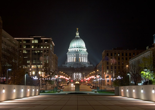 Capitol View 60 Examples of Beautiful Night Shots