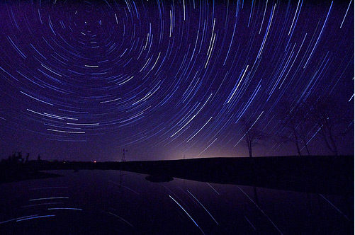star trails 60 Examples of Beautiful Night Shots