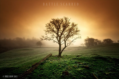 Battle Scared in Amazing Landscape Photography by Mike Shaw (40 Pictures)