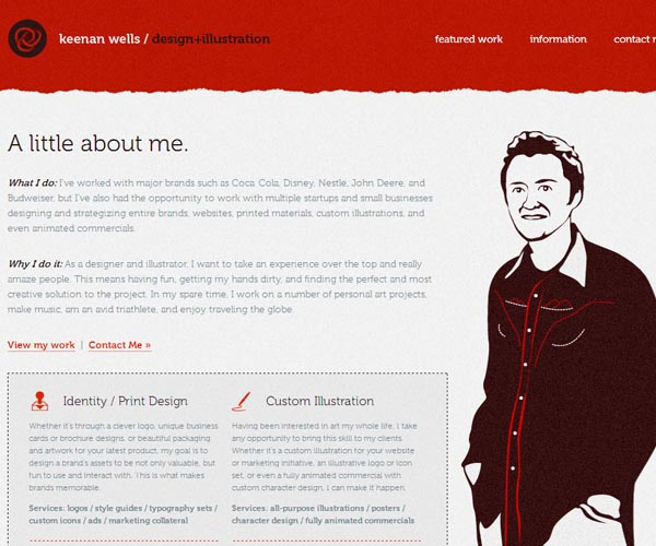 about me 51 40 Groovy Examples of About Me Page Designs