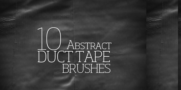 10 Abstract Duct Tape Brushes