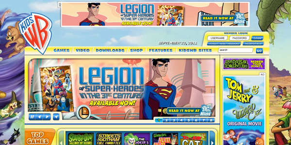 kidswb Designing a Child Friendly Website (Examples and Practices)