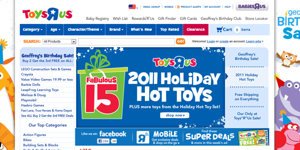 toys r us Designing a Child Friendly Website (Examples and Practices)