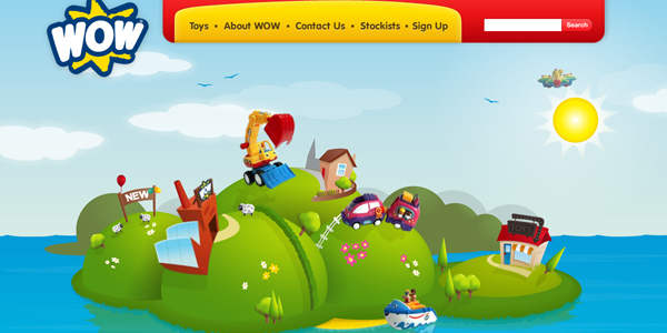wow toys Designing a Child Friendly Website (Examples and Practices)
