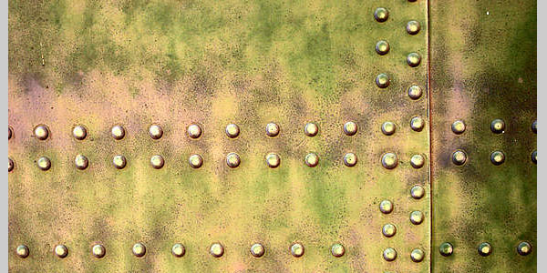 Rivets on Grungy Metal
