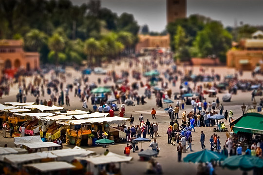 Miniature Marrakech
