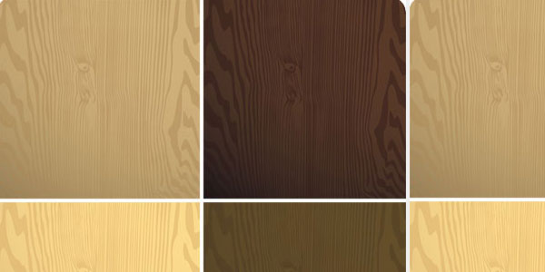 Different Wood Textures Vector