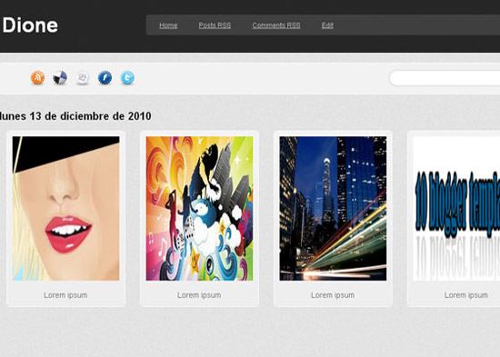 blogger template12 Stunning Collection of Blogger Templates