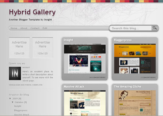 blogger template14 Stunning Collection of Blogger Templates