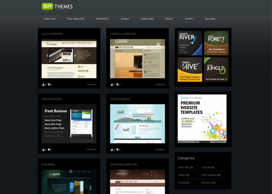 blogger template5 Stunning Collection of Blogger Templates