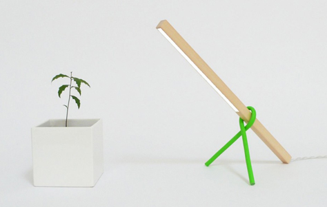 1 x 1 LED Desk Lamp. Designed by Victor Vetterlein.