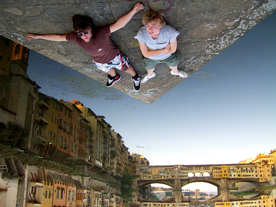 Glued in Florence