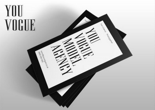 YouVogue business card