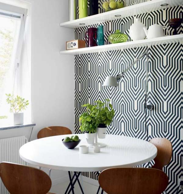 Beautiful modern home design1 40 Scandinavian Wallpaper Ideas Making Decorating a Breeze