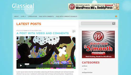 hight quality wp themes 06 Fresh and High Quality Free WordPress Themes Collection